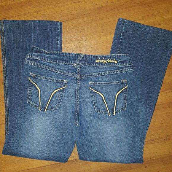 Baby Phat jeans size 9 Baby Phat jeans size 9. Inseam is approx 29 inches. Baby Phat Jeans