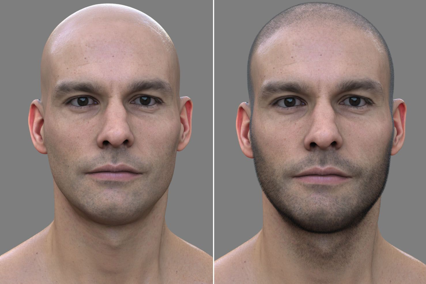 Creating a photorealistic 3D human