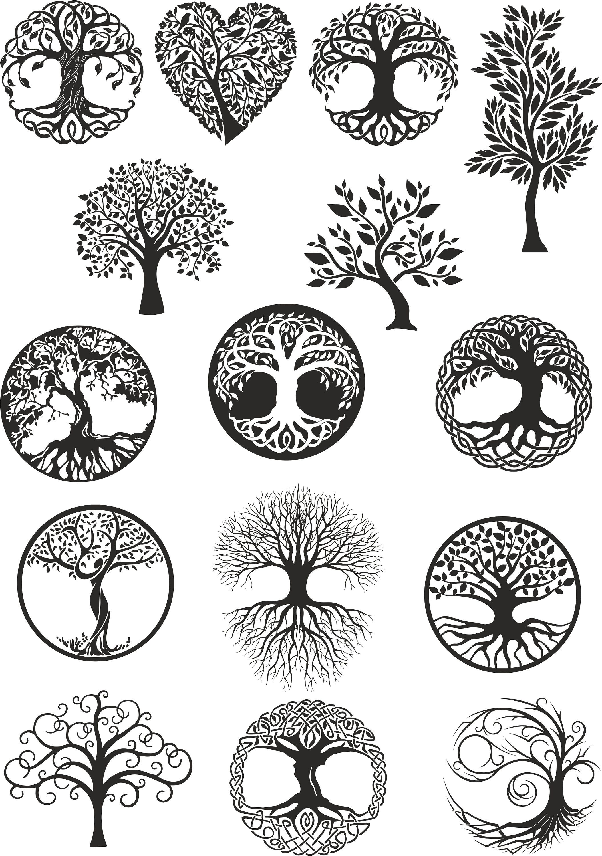 vector ornament decorative celtic tree of life vector. Black Bedroom Furniture Sets. Home Design Ideas