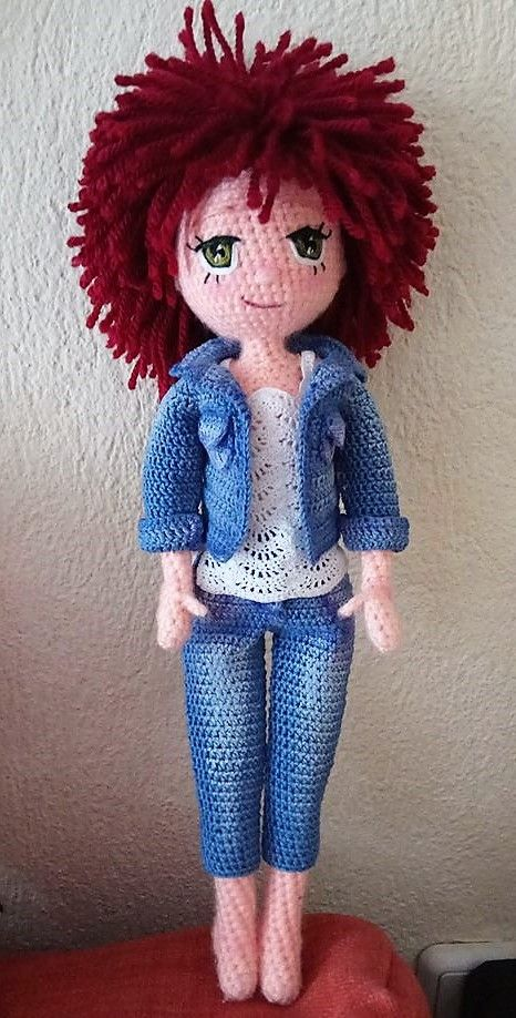 Free Crochet Amigurumi Doll Pattern Tutorials | Puppen ...