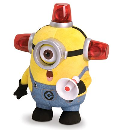 Despicable Me Bee-Do Fireman Minion - The Toy Insider