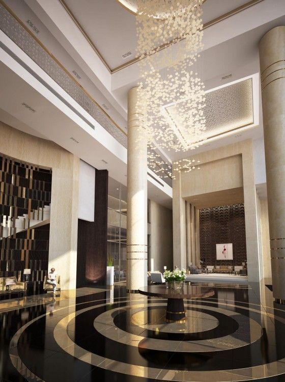 Find the best and most luxurious inspiration for your next lobby or reception interior design