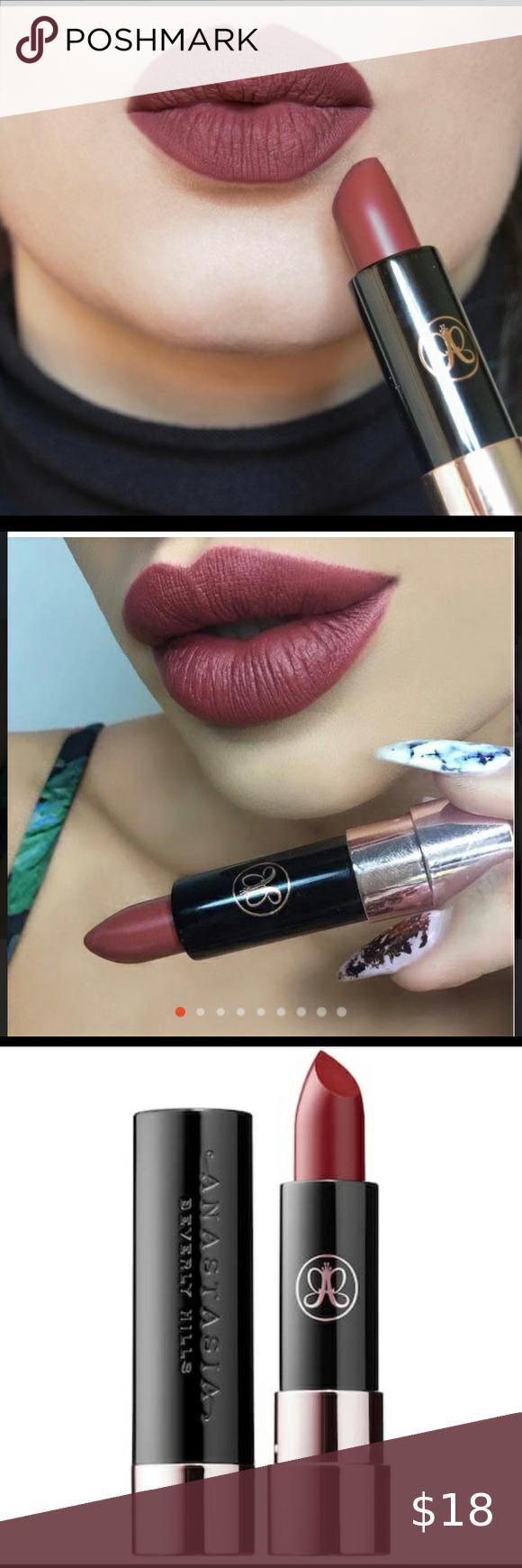 Anastasia Beverly Hills Matte Lipstick New In Box In 2020 Matte Lipstick Pigmented Lips Lipstick