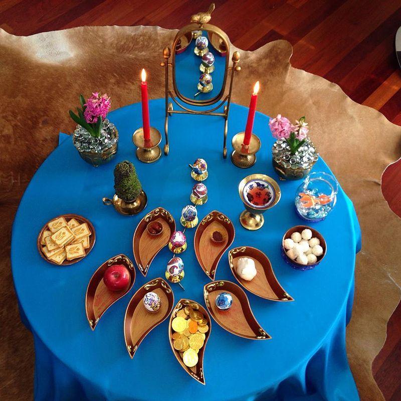 Nowruz Haft Seen Nowruz Table Nowruz
