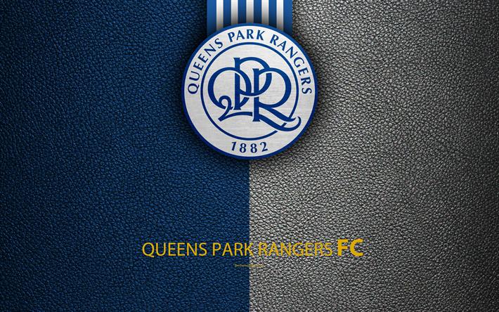 Download Wallpapers Queens Park Rangers FC, 4K, English