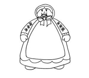 The old lady who swallowed a fly circle activity and