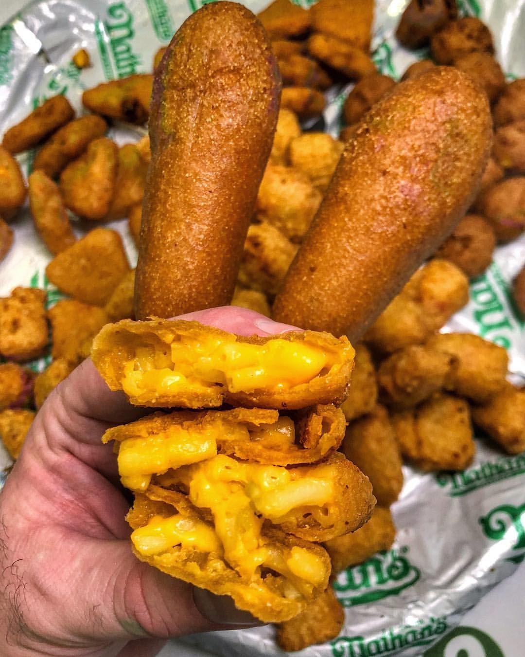 Jalapeno Corn Fritters Hush Puppies And Mac N Cheese Bites Cheese Bites Mac N Cheese Mac N Cheese Bites