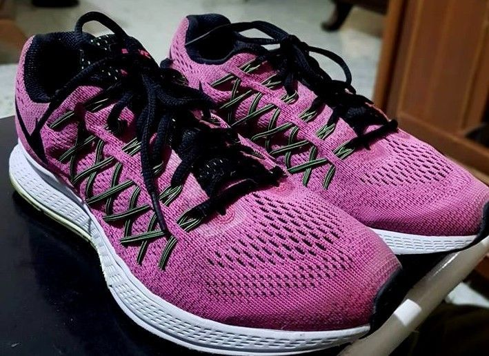 bb29553cd52 women s Nike Air Zoom Pegasus 32 Running Sneakers pink black size us9.5 uk7  eu41  fashion  clothing  shoes  accessories  womensshoes  athleticshoes ( ebay ...
