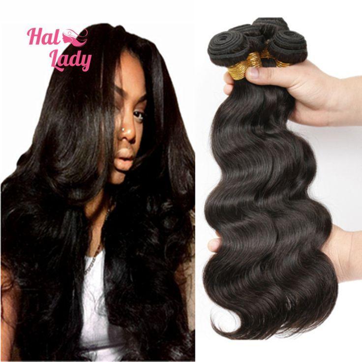 1040 INCH Brazilian Virgin Hair Bundles 3pcs / lot