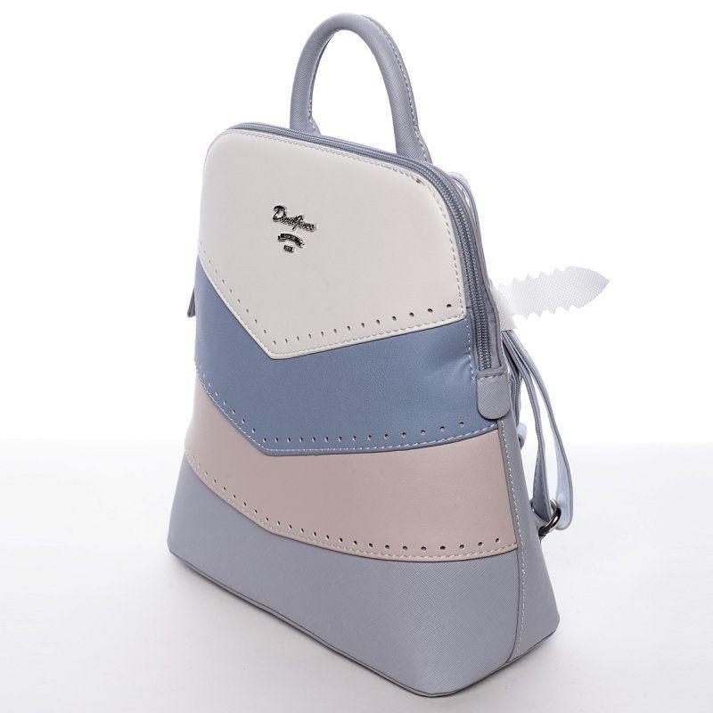 339171690b Stylový modrý batůžek Julius.  demixcz  modrá  batůžek  móda