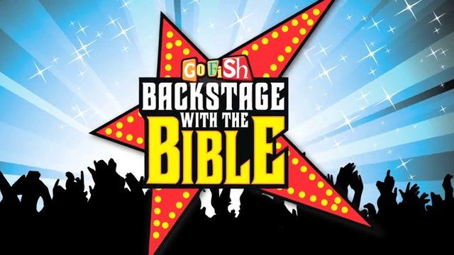 This year's VBS!  Go Fish Resources - Backstage With The Bible VBS 2015