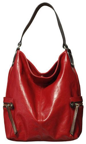 657e204436bc Brand new from Tano - Bag Check Hobo Handbag in Salsa. Gorgeous ...