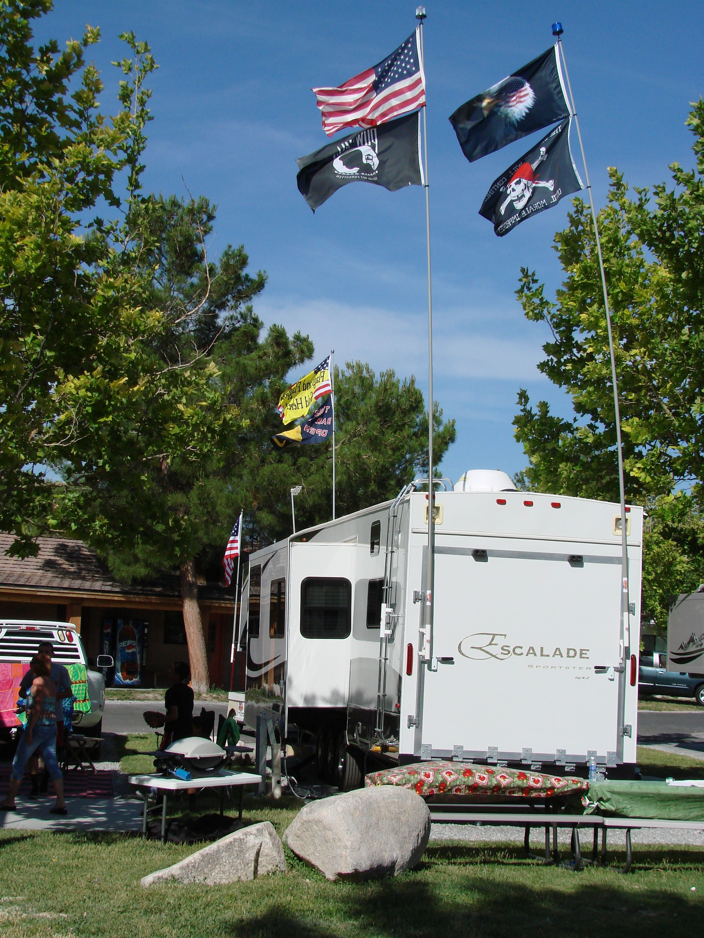 Flagpoles and Flags that perfect t from A1 Flags & Poles NASCAR