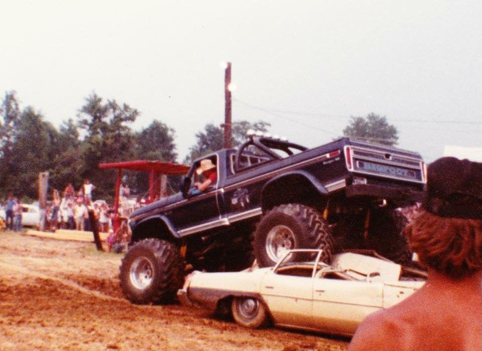 Bob Chandler And Bigfoot 1 Crushing Cars Monster Trucks Ford