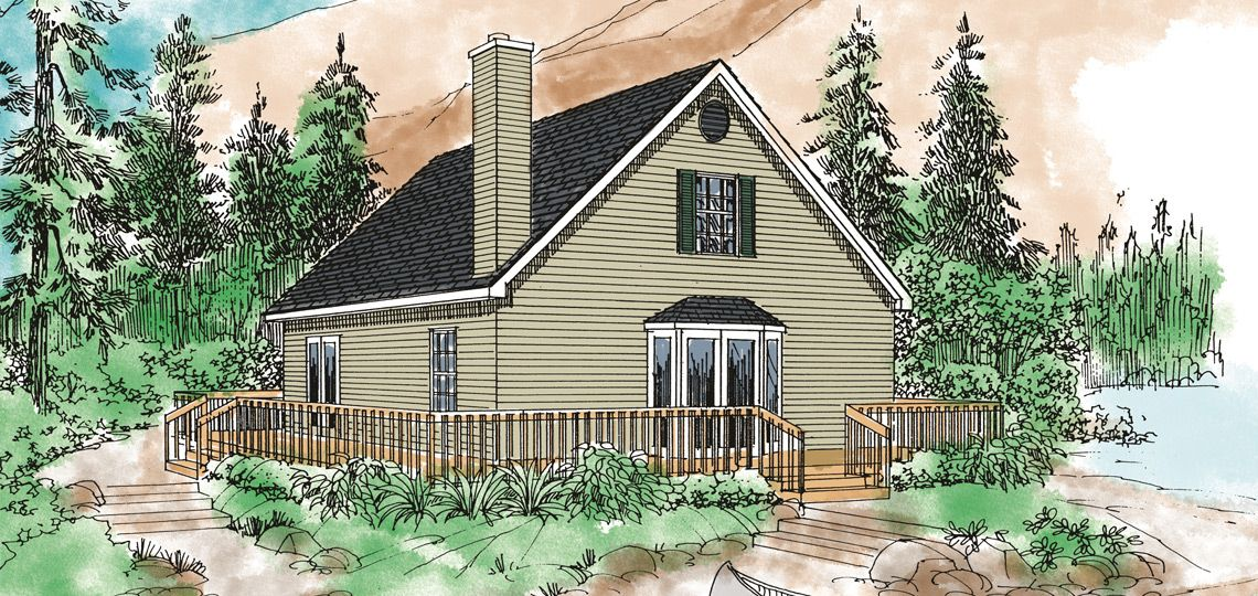 vacation house plan: pocomoke city | 84 lumber | vacation home plans