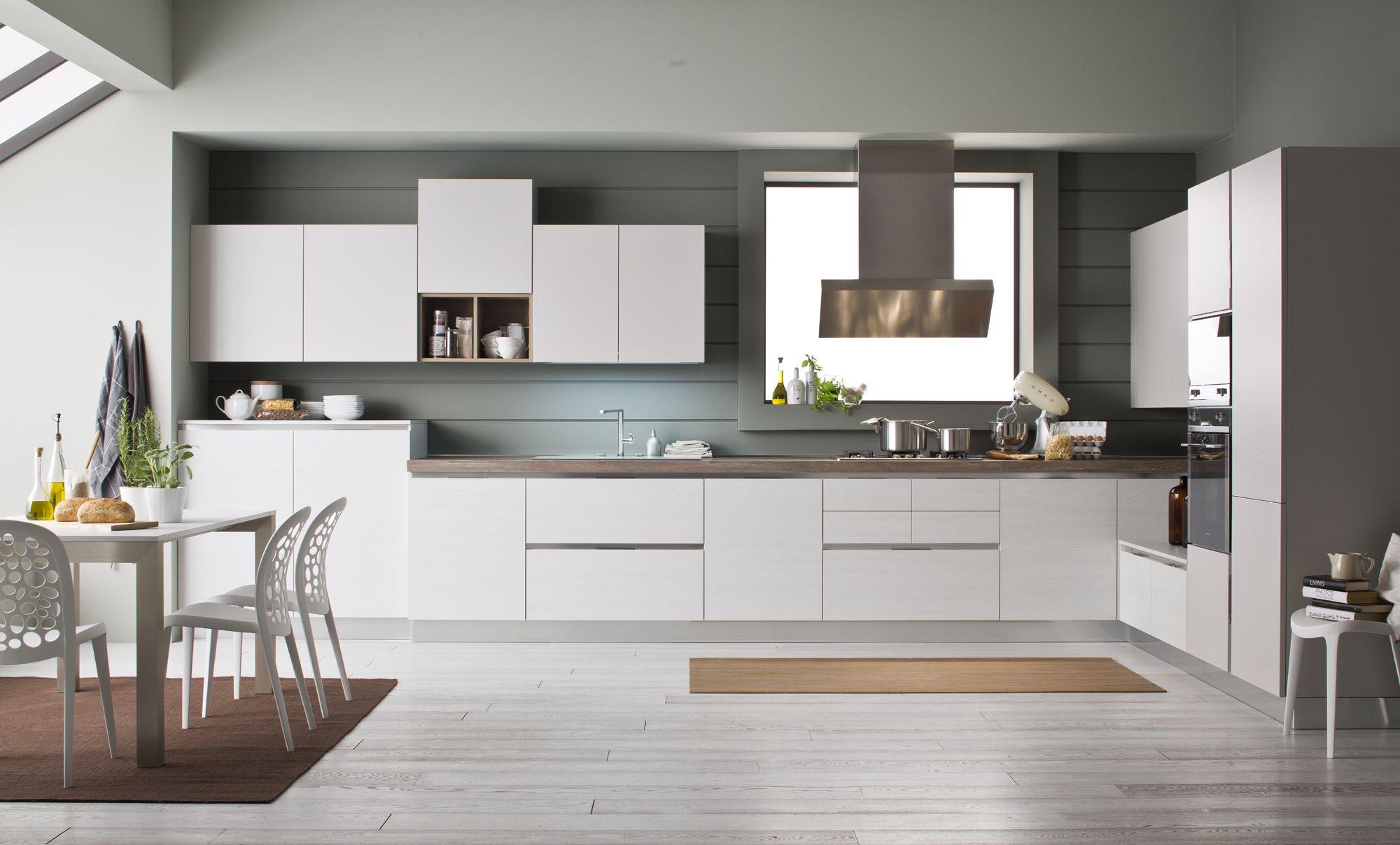 Cucine Moderne Con Cappa Ad Angolo.La Cucina Ad Angolo Di Arrex Bella E Funzionale Nel 2019