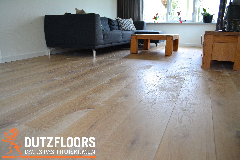 Rustieke en wit geschaafde houten vloer inspiratie houten