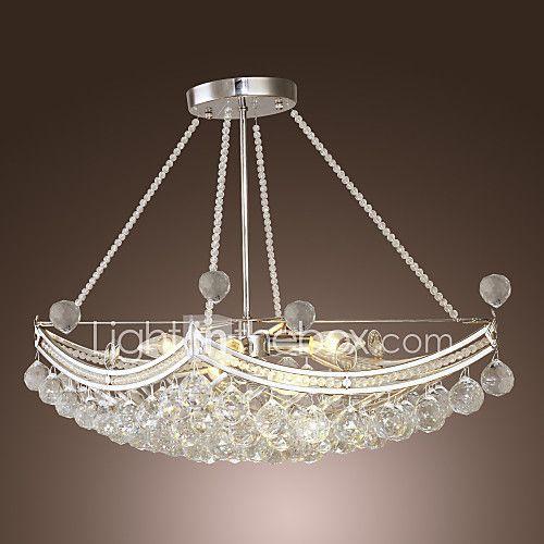 lmparas colgantes moderno galvanizado for cristal metal sala de estar dormitorio comedor