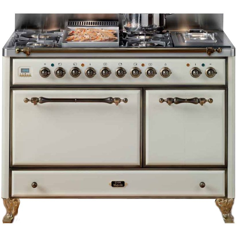 Ilve Mcs-120 - Majestic Country Cucina Da Accosto Cm. 121, 6.958 ...
