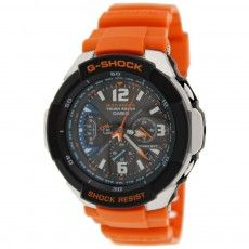 Powered By Both Natural And Artificial Light The Men S Casio G Shock Tough Solar Gravity Defier Watch Uses Shock Res G Shock Casio G Shock Watches Casio Watch