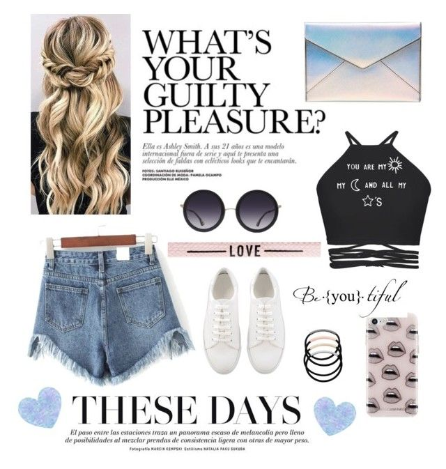 """""""Summertime🙈😍"""" by nastydesign on Polyvore featuring Alice + Olivia, WithChic, Rebecca Minkoff and L. Erickson"""