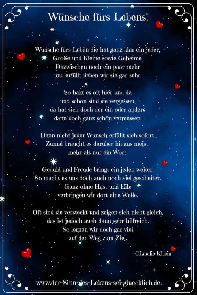 Sprüche und Zitate: #Sprüche #Zitate #Gedicht #Gedichte ...