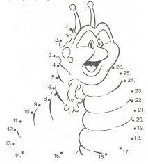 Dibujos Para Pintar Unir Numeros Para Ni Os Preescolar Numeros Para Ninos Fichas Actividades Para Ninos Preescolar