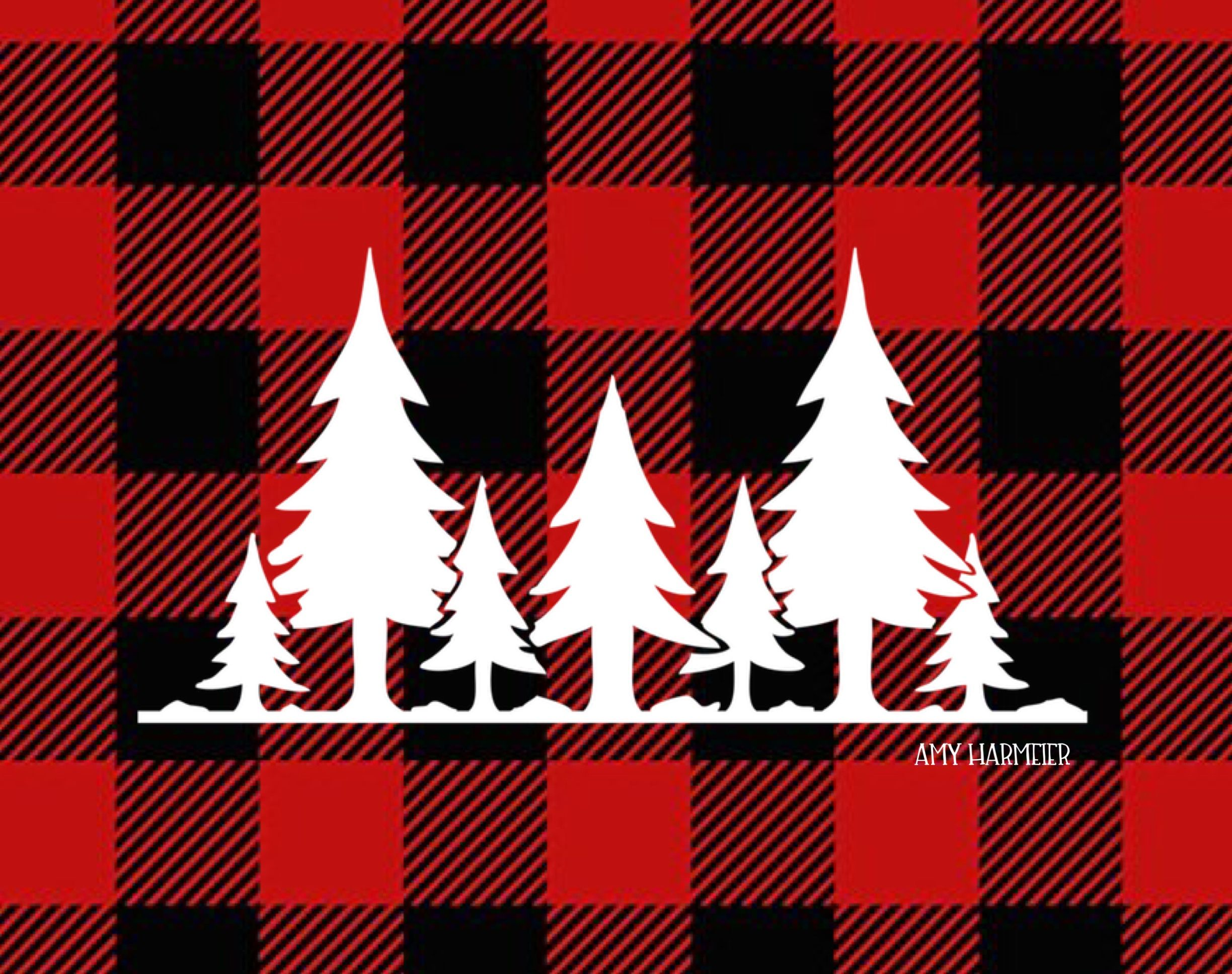 Pin by Amy Harmeier on Christmas Plaid wallpaper
