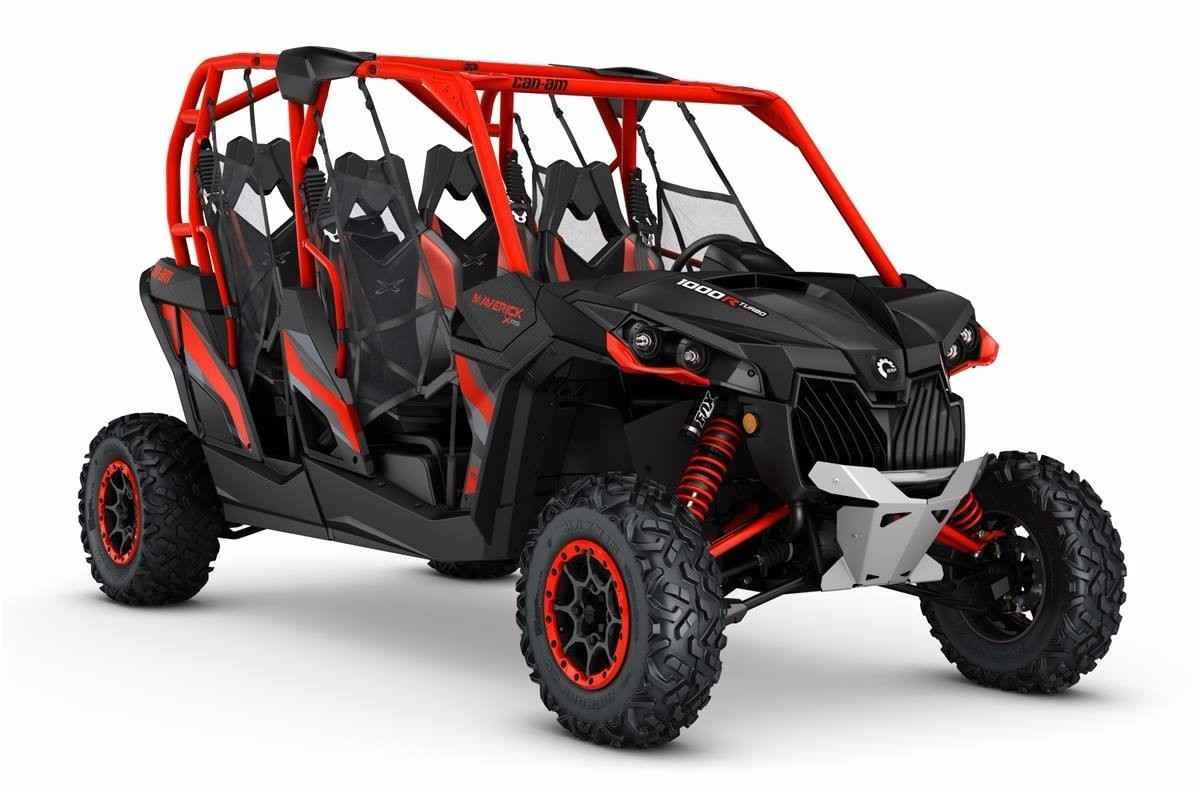 New 2017 CanAm Maverick MAX X rs TURBO ATVs For Sale in