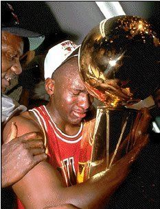 NBA Trophy With His AIRness
