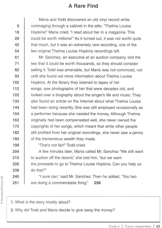 - 5 K12 Worksheets In 2020 Fluency Passages, Reading Fluency