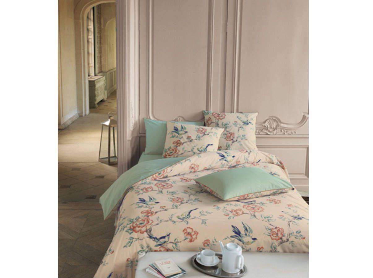 Chambre romantique - Elle Décoration | Linvosges | Chambre ...