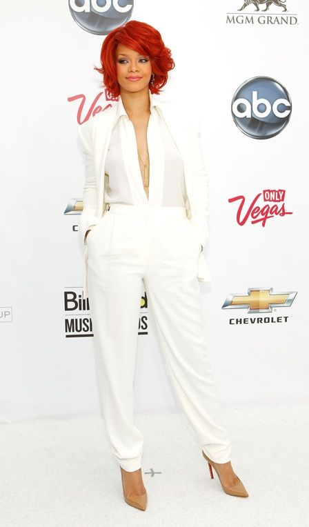 Sexy suit: white