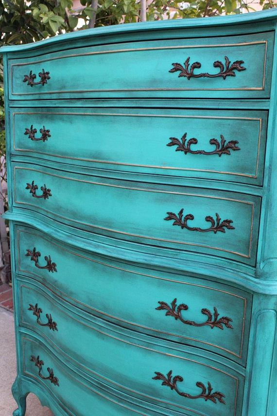 Dresser Painted Chest Of Drawers