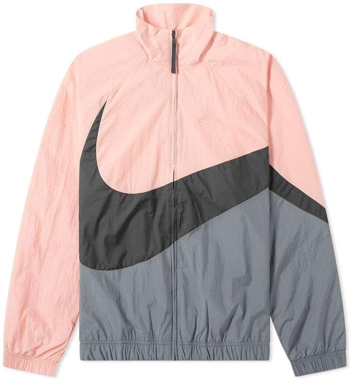 Nike Big Swoosh Woven Jacket Woven Jacket Jackets Nike Hoodie Outfit