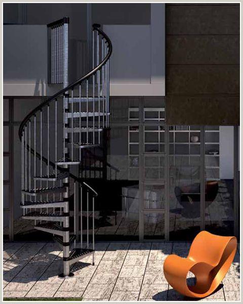 Best Zink Exterior Spiral Staircase Spiral Staircase Stairs 400 x 300