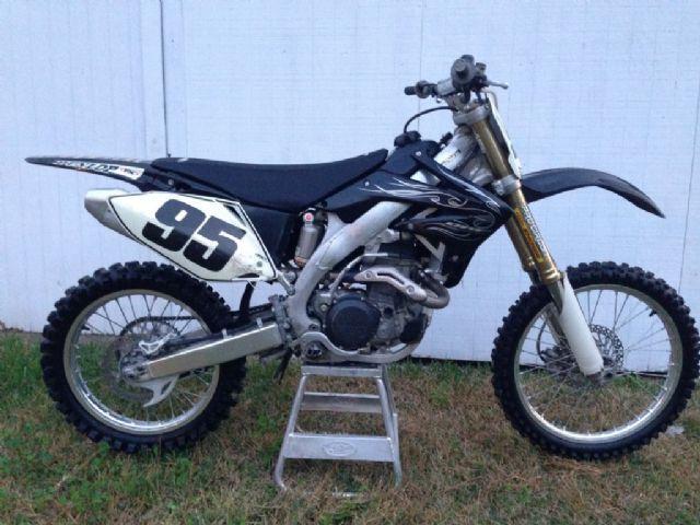 2008 Honda CRF450R Dirt Bike , black, 50 miles for sale in sulphur ...