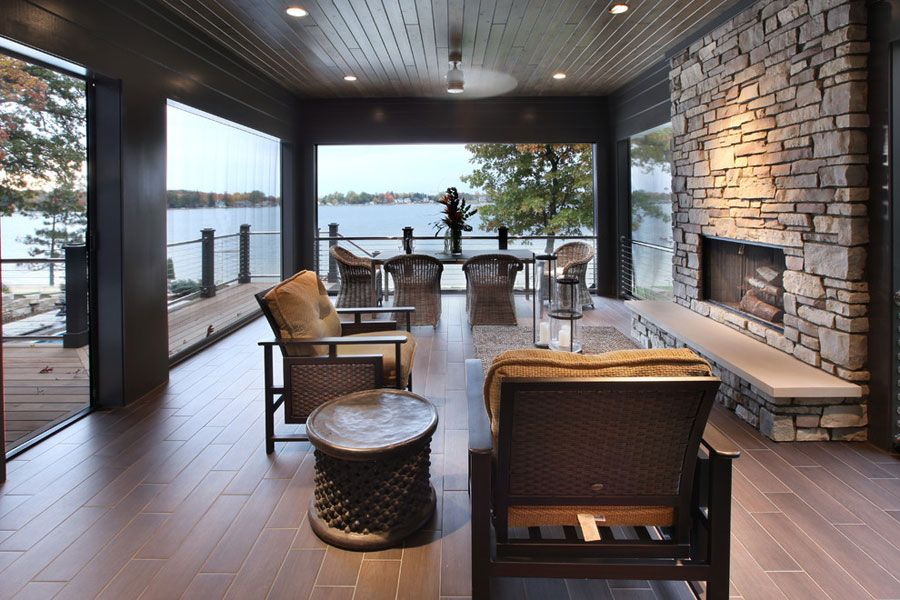 40 Favolose Idee Per Porticati Moderni Mondodesign It Portico Moderno Esterni Moderni Design Di Balcone