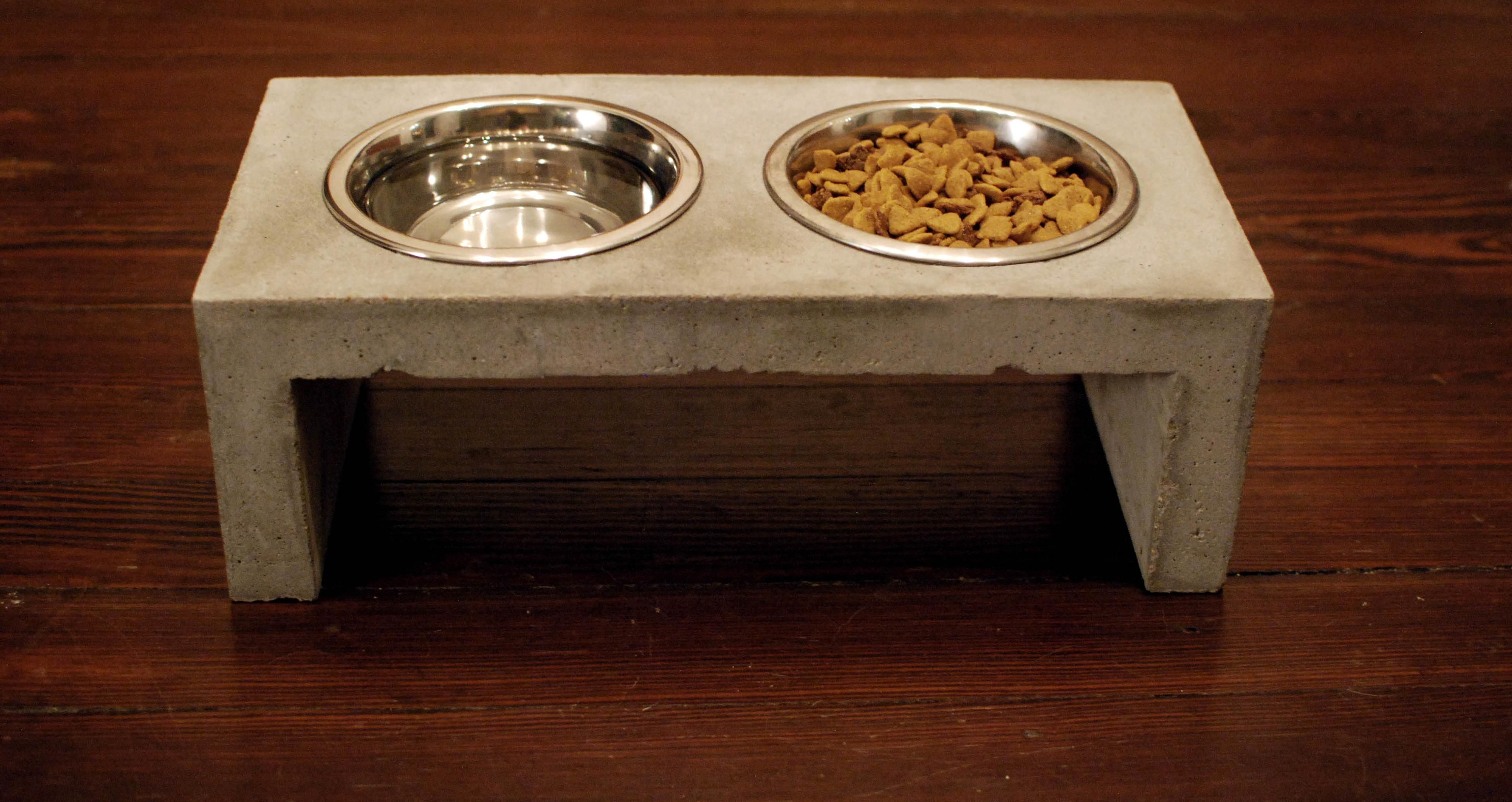 Buy Quikrete Countertop Mix Standing Dog Bowl Quotthe Objective Of This Project Was To