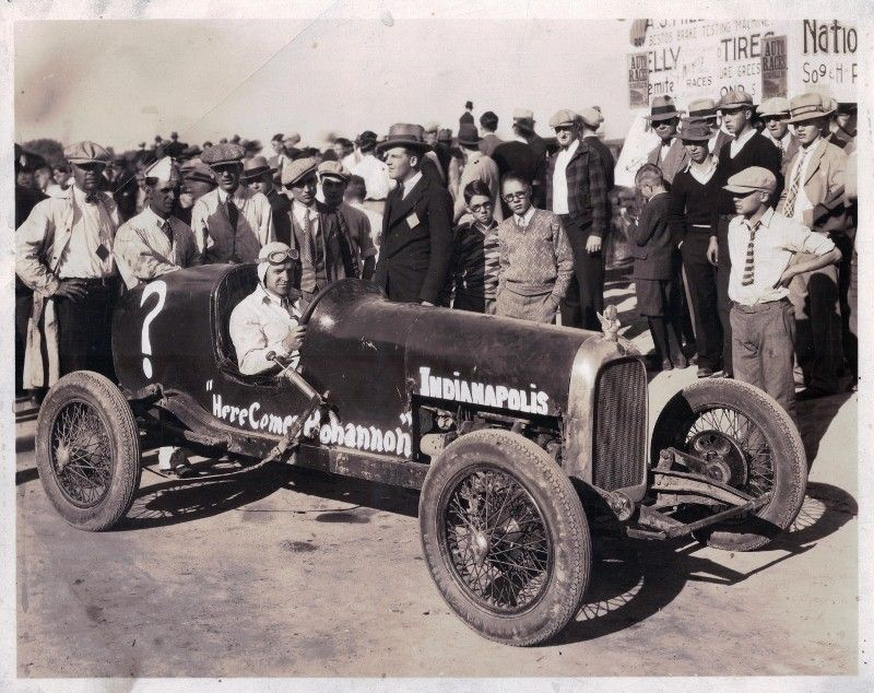 Here Comes Bohannon (auto sales) sponsored car - 1930. My grandpa ...