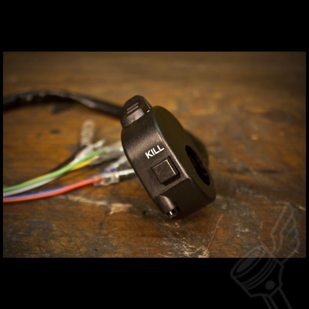 Simple Clean Kill Switch And Headlight Control Switch