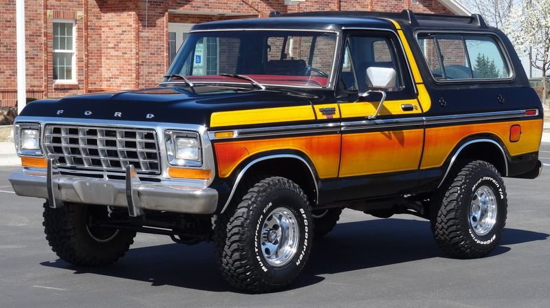 Free Wheelin 4 4 1979 Ford Bronco Ranger Xlt Ford Bronco 1979
