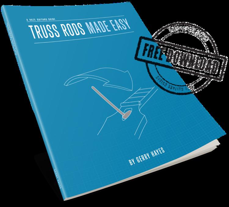Haze Guitars Guide: Truss Rods & Relief | Guitar chords | Pinterest ...