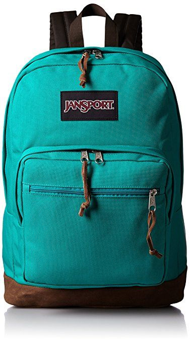 JanSport Womens TYP72D6 Classic Specialty Right Pack Backpack-Barber  Green(18 H x 13 W x 8.5 D Inches)  Sports   Outdoors cfa8d5f1b
