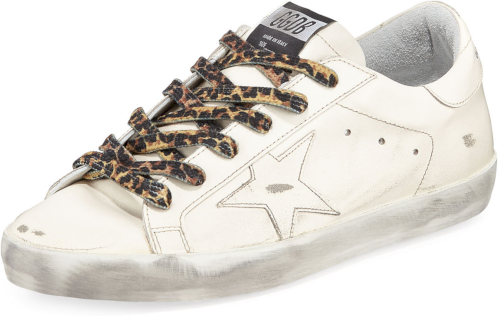 Superstar Leather Low-Top Sneakers with