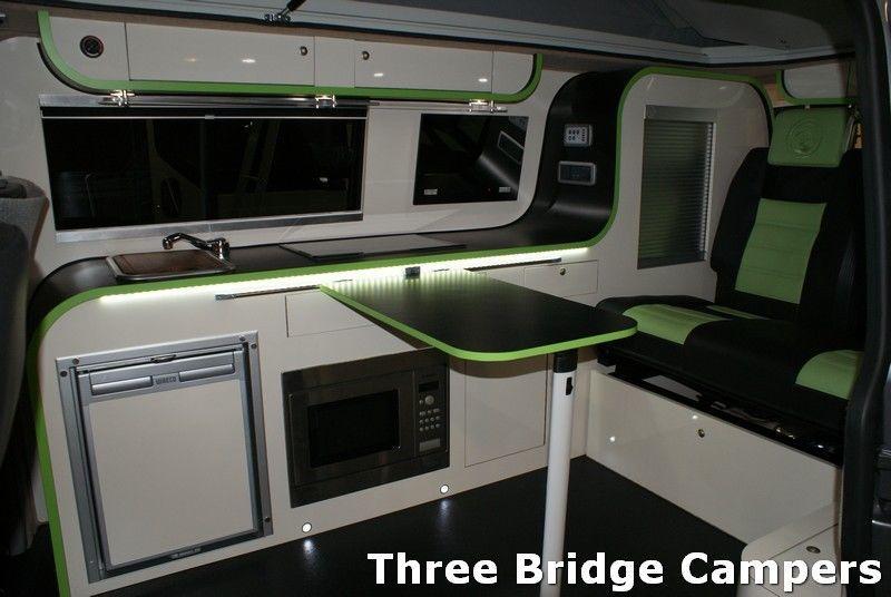 Camper Or Campervan Conversion Unit Vw T4 T5 Renault