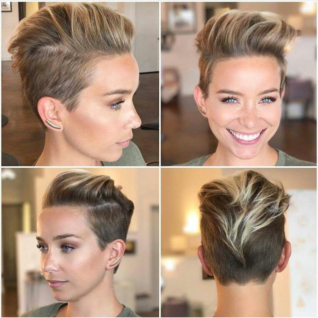 Short haircut for women hairstyles pinterest hair short hair