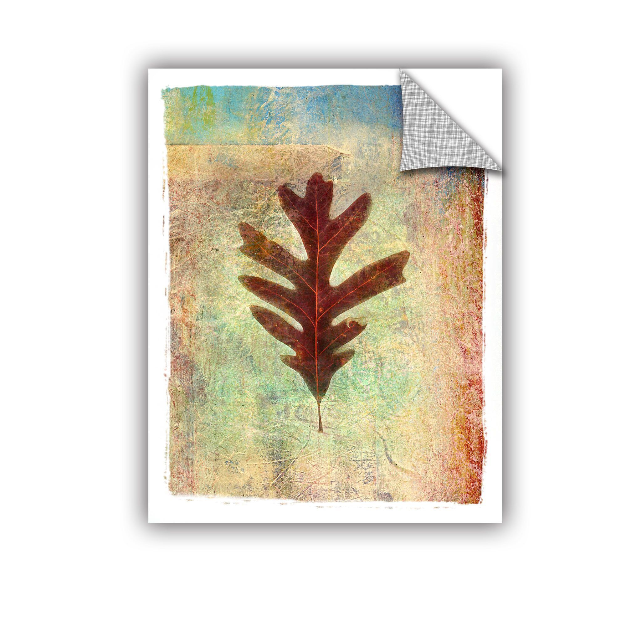 Dorable Mosaic Palm Leaves Wall Decor Motif - The Wall Art ...