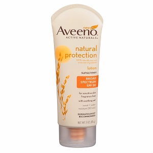 I'm learning all about Aveeno Active Naturals Natural Protection SPF 50 Lotion at @Influenster! @AVEENOmens