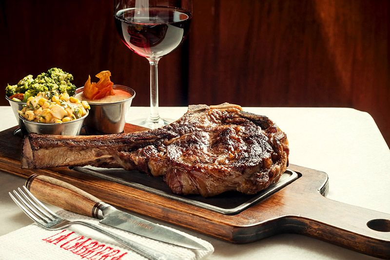 Bife De Chorizo At La Cabrera Steakhouse Buenos Aires Named A Top 10 In The World
